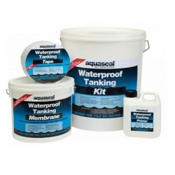 Aquaseal Wet Room Tanking System Large 7.5 Meter Kit AQWRSKIT