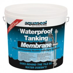 Aquaseal Wet Room Waterproof Tanking Membrane 5 Litre