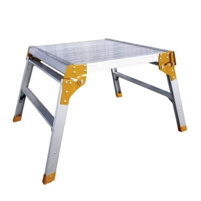Folding Aluminium Work Platform Hop Up 600mm 150kg