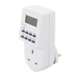 Power Master Electric Plug In 7 Day Digital Timer 262755