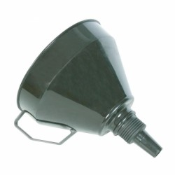 Silverline Plastic Funnel with Pre Filter 633563