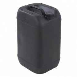 25 Litre Plastic Water Storage Container Drum Black Petrol Diesel Can Fuel Liquid