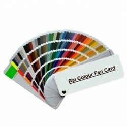 K7 Classic Ral Colour Swatch Card