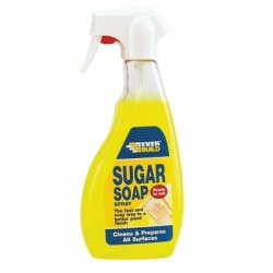 Everbuild Sugar Soap Spray Surface Cleaner Liquid SOAPSPRAY