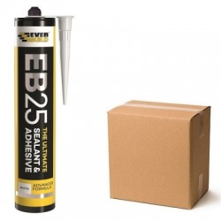Everbuild EB25 Ultimate Sealant & Adhesive Box of 12 Short Date Clearance