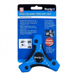 Blue Spot Tools Folding Torx Key Set 15370