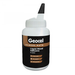 Geocel Joiners Mate 5 min Polyurethane D4 Wood Adhesive 500ml