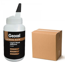 Geocel Joiners Mate 5 min Polyurethane Wood Adhesive 500ml Box of 6