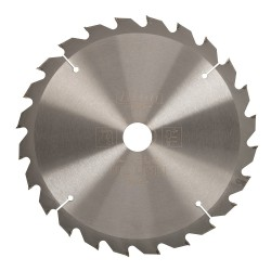 Triton 250mm 24T Circular Saw Blade 30mm inc 25 20 16 Rings 345208