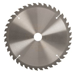 Triton 250mm 40T Circular Saw Blade 30mm inc 25 20 16 Rings 617338