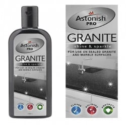 Astonish Pro Granite Marble Shine & Sparkle Clean Polish Seal Protect 238763
