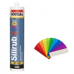 Soudal Color Ral Colour Coloured Premium Silicone Sealant
